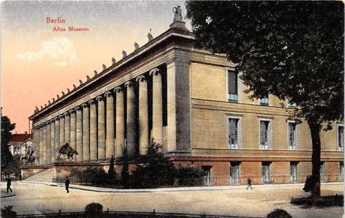 Berlin Altes Museum Ngl 143 608 In Sammeln Seltenes Ansichtskarten Deutschland Berlin Ebay Altes Museum Museum Insel Museum