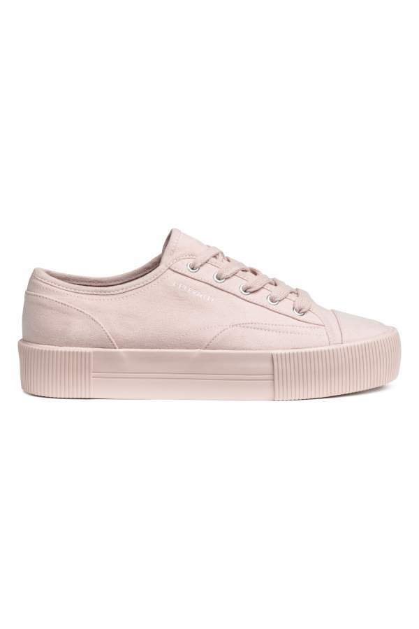 6ef0386e3460 H M H   M - Platform Sneakers - Powder pink - Women