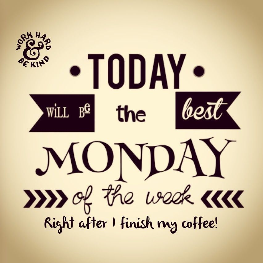 Must have my coffee! coffeelovers Monday motivation