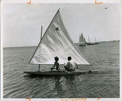 vintage sailfish - predecessor to the sunfish -