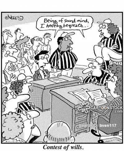 Contest Of Wills Legal Humor Lawyer Humor Lawyer Jokes