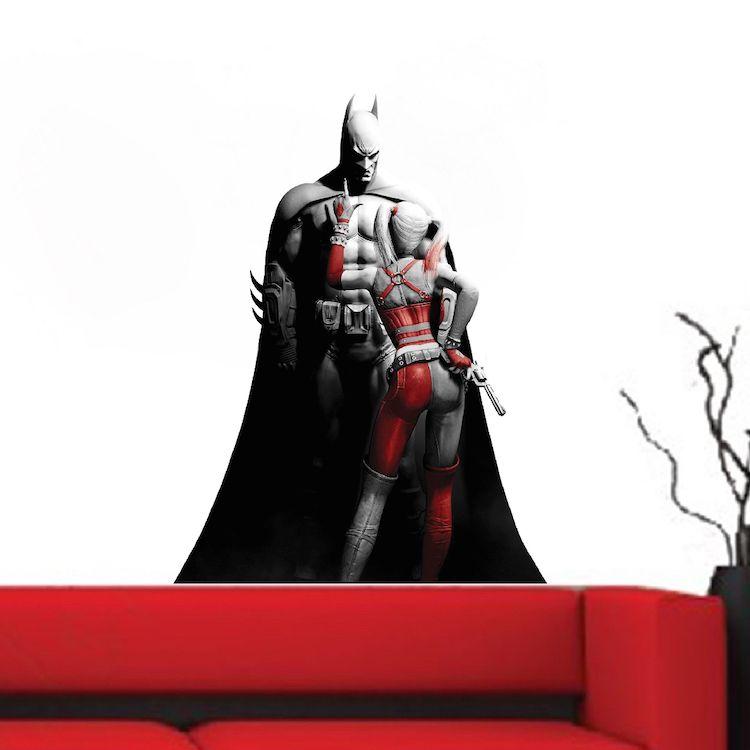 Cool Batman Bedroom Wall Sticker   Batman Wall Decal   Superhero Wall  Design   Primedecals