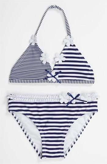 OMG adroable adorable...how many time can I say that?!?!  #kids #fashion #style #swimsuit