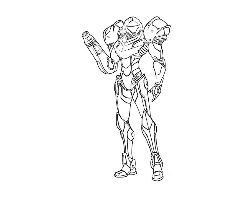 Metroid Coloring Pages  Coloring for Kids  Pinterest  Metroid