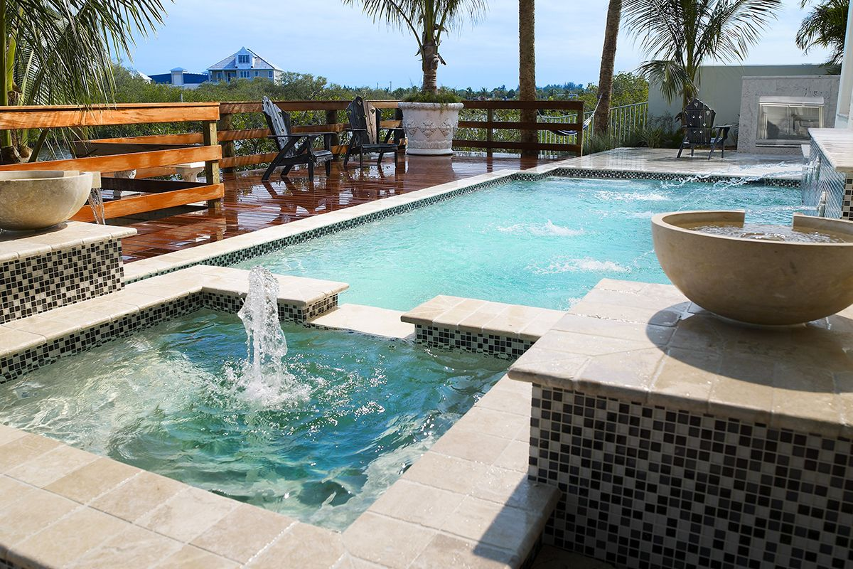 Advantages And Disadvantages Of A Saltwater Pool Custom Home Builders Saltwater Pool Luxury Pools