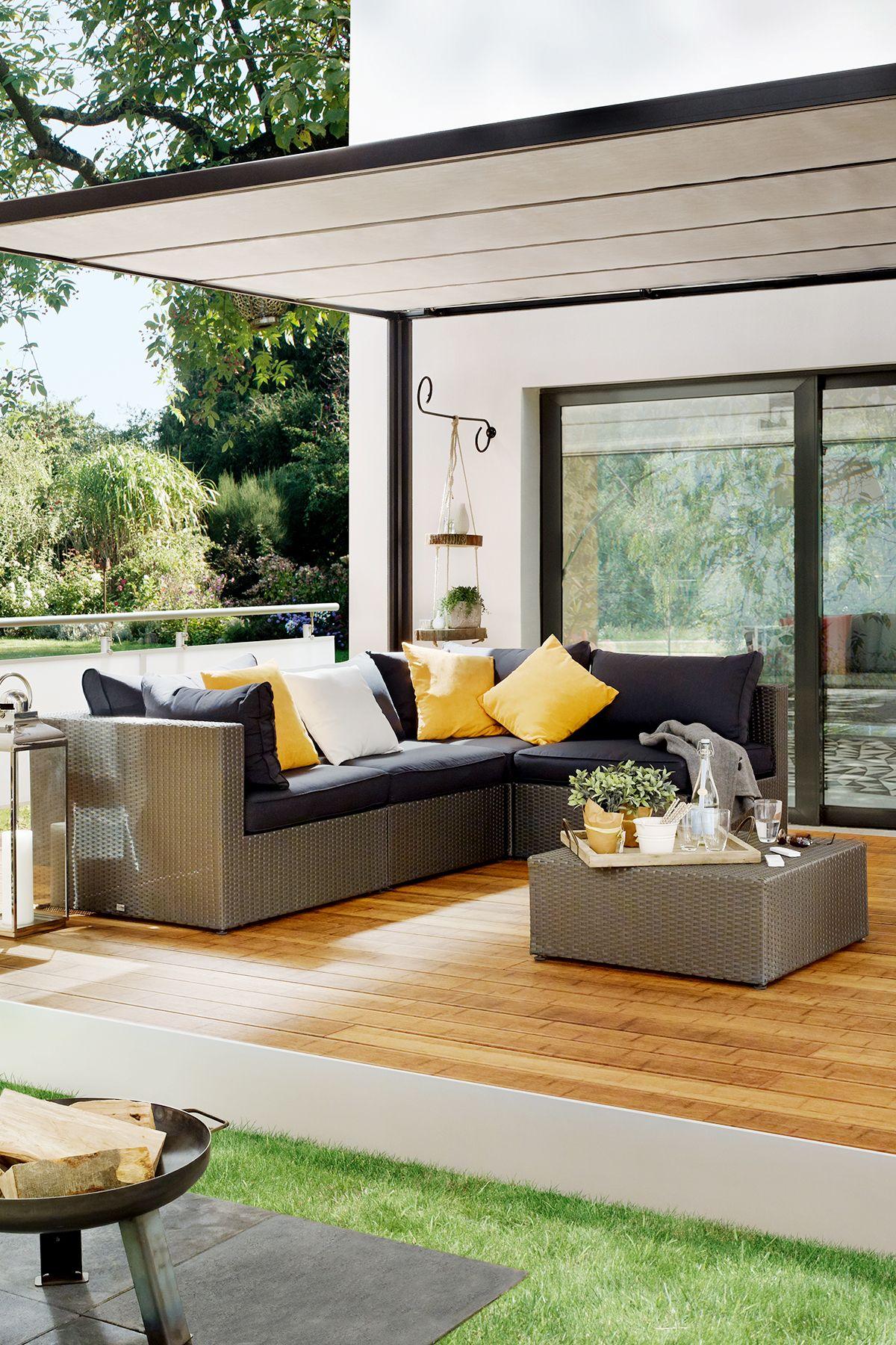 Pavillon für Terrasse   Außenmöbel, Pavillon, Outdoor sofa