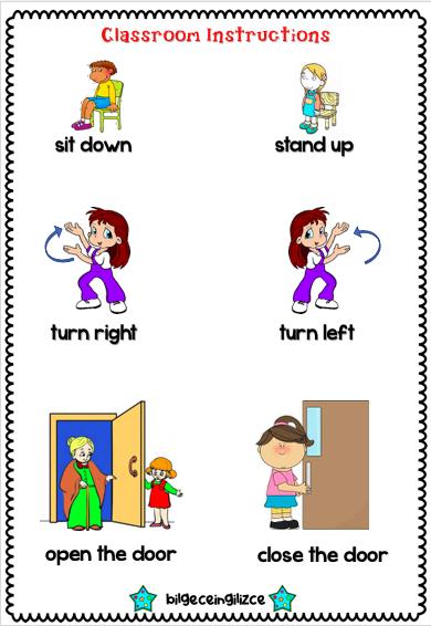 2nd grade worksheets, 2. sinif ingilizce calisma kagitlari -  Bilgeceingilizce in 2020 | English classes for kids, English lessons for  kids, 2nd grade worksheets