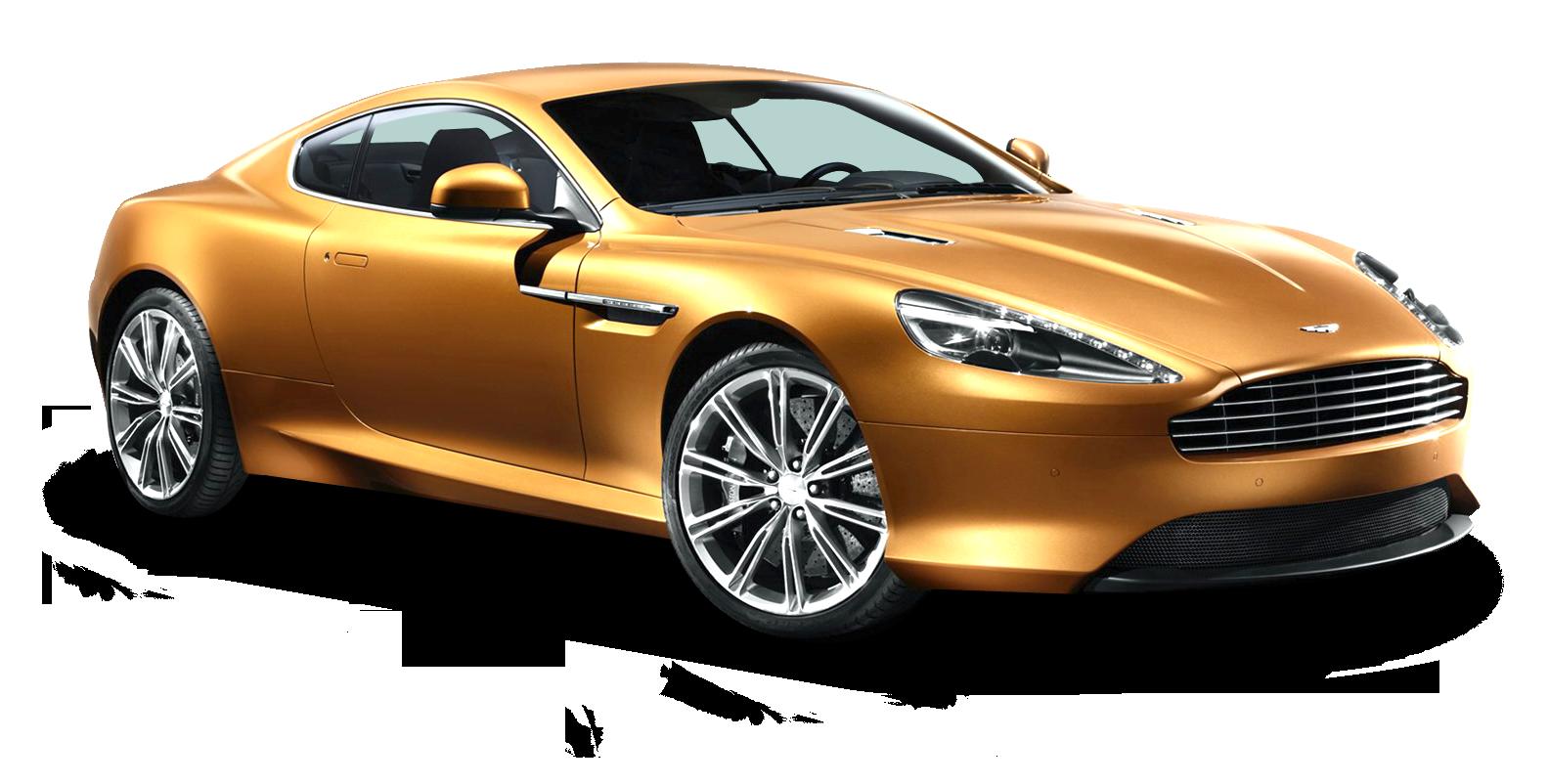 Aston Martin Virage Gold Car Png Image Aston Martin Virage Gold Car Aston Martin