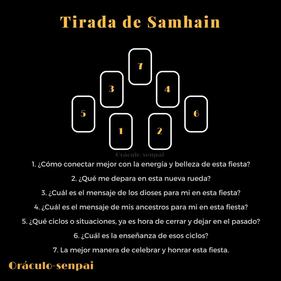 Tirada De Samhain Lectura De Tarot Tarot Arcanos Tarot