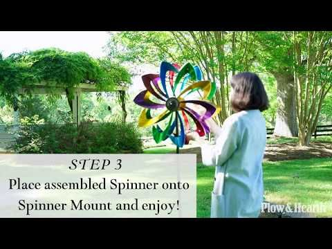 Spring 2017 Kinetic Spinners - YouTube | Wind spinners | Pinterest
