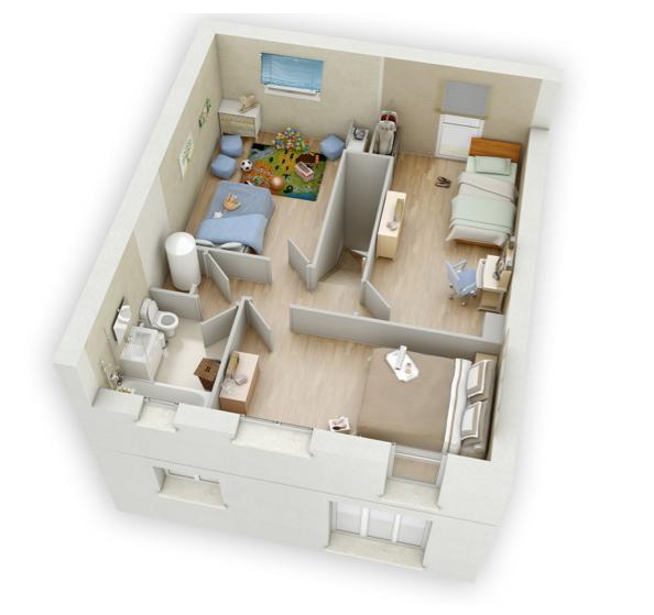 Mikit Isalie étage | plans intérieurs | Pinterest | House