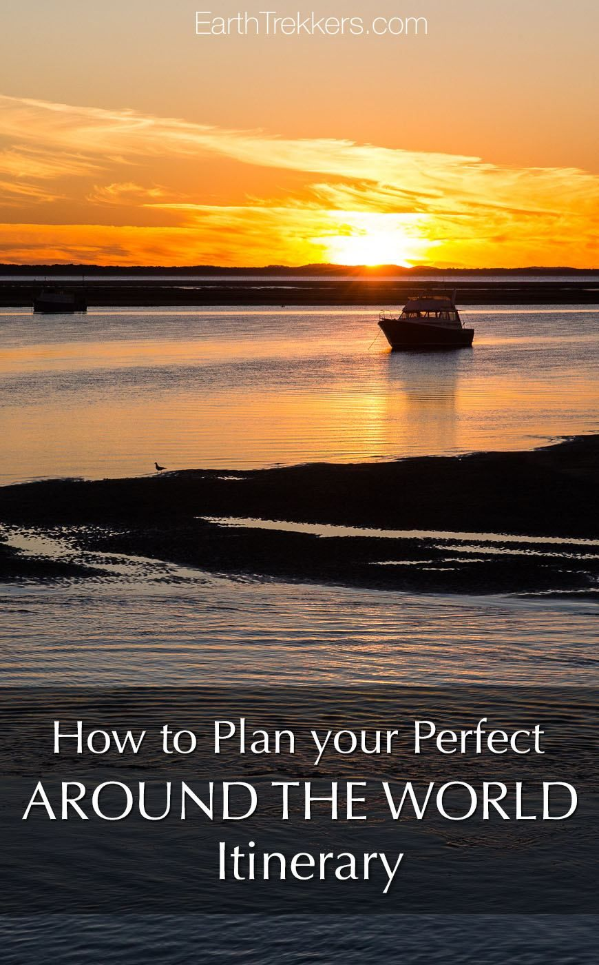 Around the World Itinerary Plan