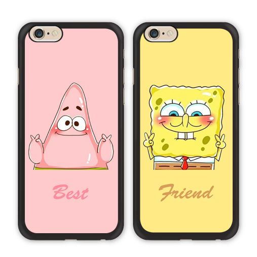 Bff Spongebob Patrick Best Friend Case For Iphone X 8 7 6 Galaxy S8 S7 Edge Plus Bff Handyhüllen Iphone Handyhülle Iphone