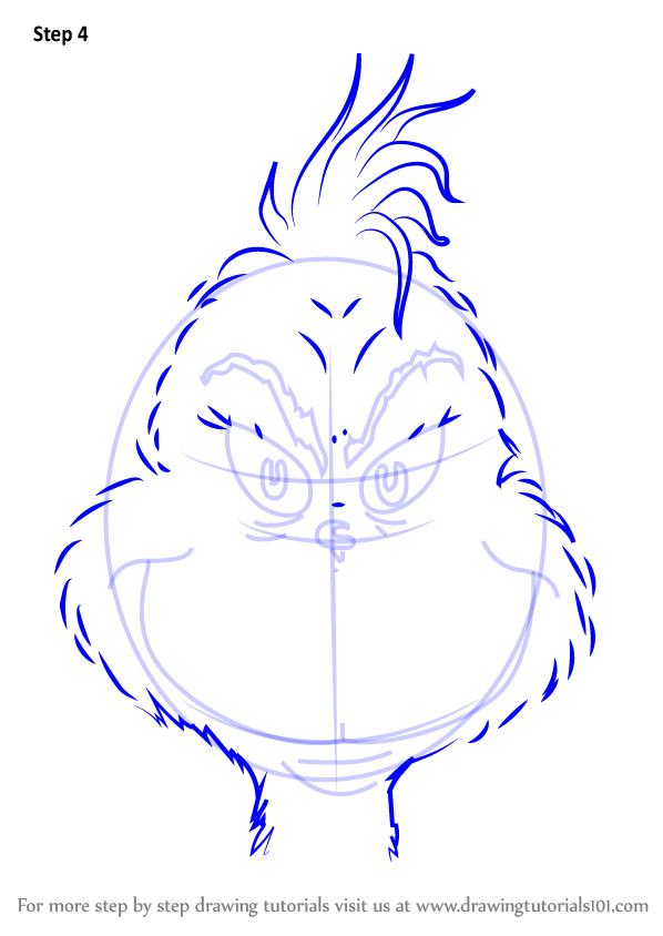 Learn How To Draw The Grinch Face Grinch Step By Step Drawing Tutorials Grinch Drawing Christmas Drawing Grinch Coloring Pages