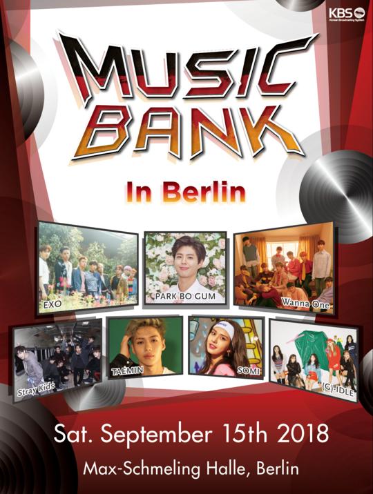 Ask K Pop Music Bank Is Heading To Berlin Berlin K Pop Music Exo Music