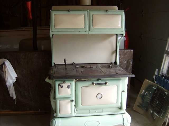 cast iron kitchen stove diy cabinet antique stoves wood porcelain and gf in 2019 pinterest