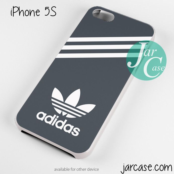 b8d480f9f6 black adidas custom white Phone case for iPhone 4 4s 5 5c 5s 6 6 plus