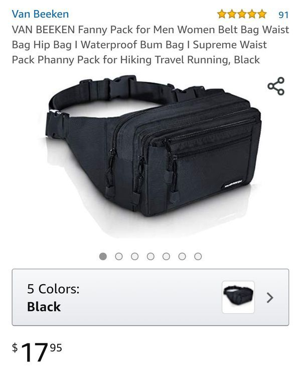 Real Cars Dont Shift Themselves Sport Waist Bag Fanny Pack Adjustable For Hike