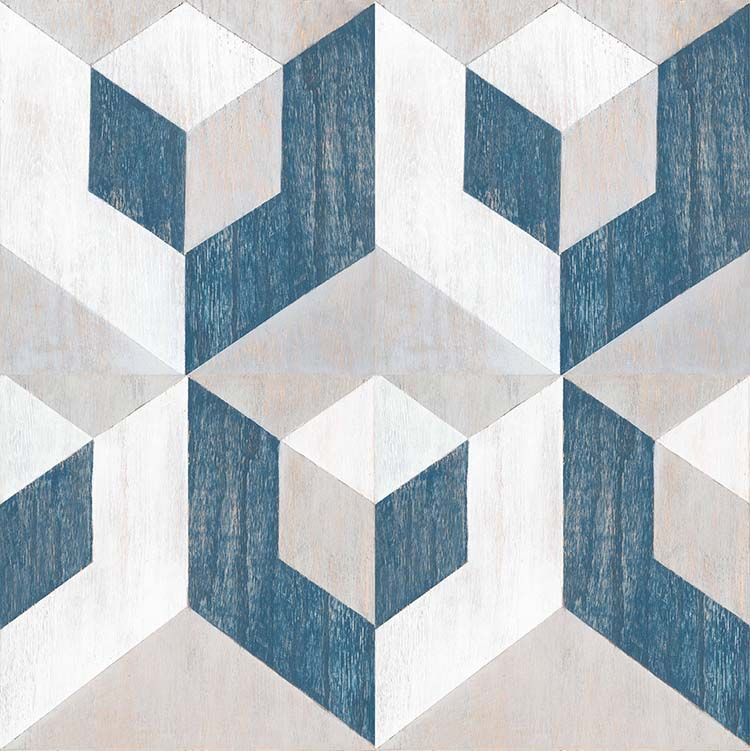 Gray White And Blue Virtual Design In 24 X24 Repeat Standard Size 12x12 Engineered Oak Wood Tile Mirthst Floor Decal Peel And Stick Floor Decorative Tile