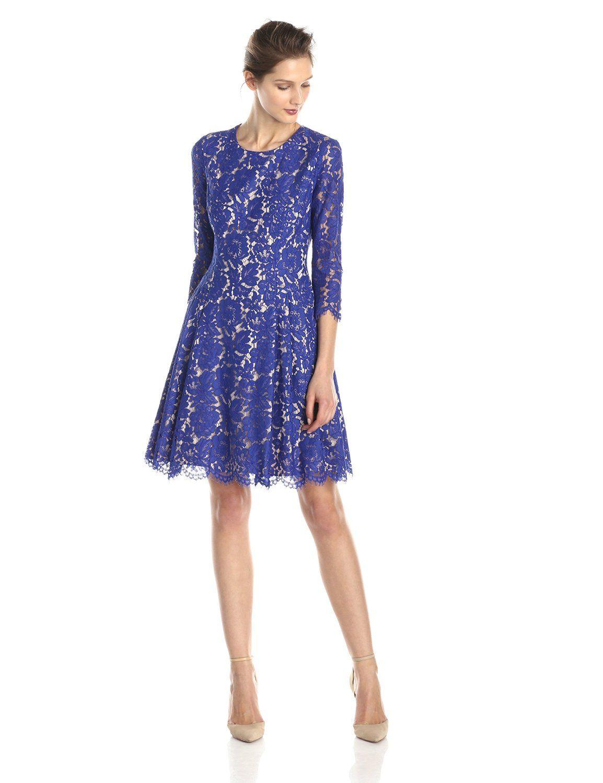 Drop Waist Lace Dress by Eliza J | Lace dress, Drop and Detail