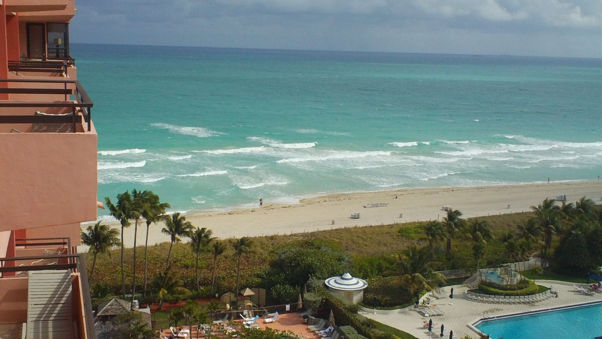 The Balcony From Alexander On South Beach