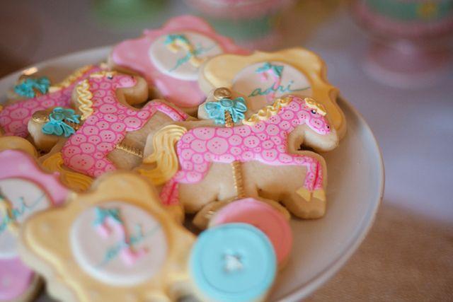 "Photo 13 of 37: Pastel Carousel / Birthday ""Adri's 2nd Birtdhay"" | Catch My Party"
