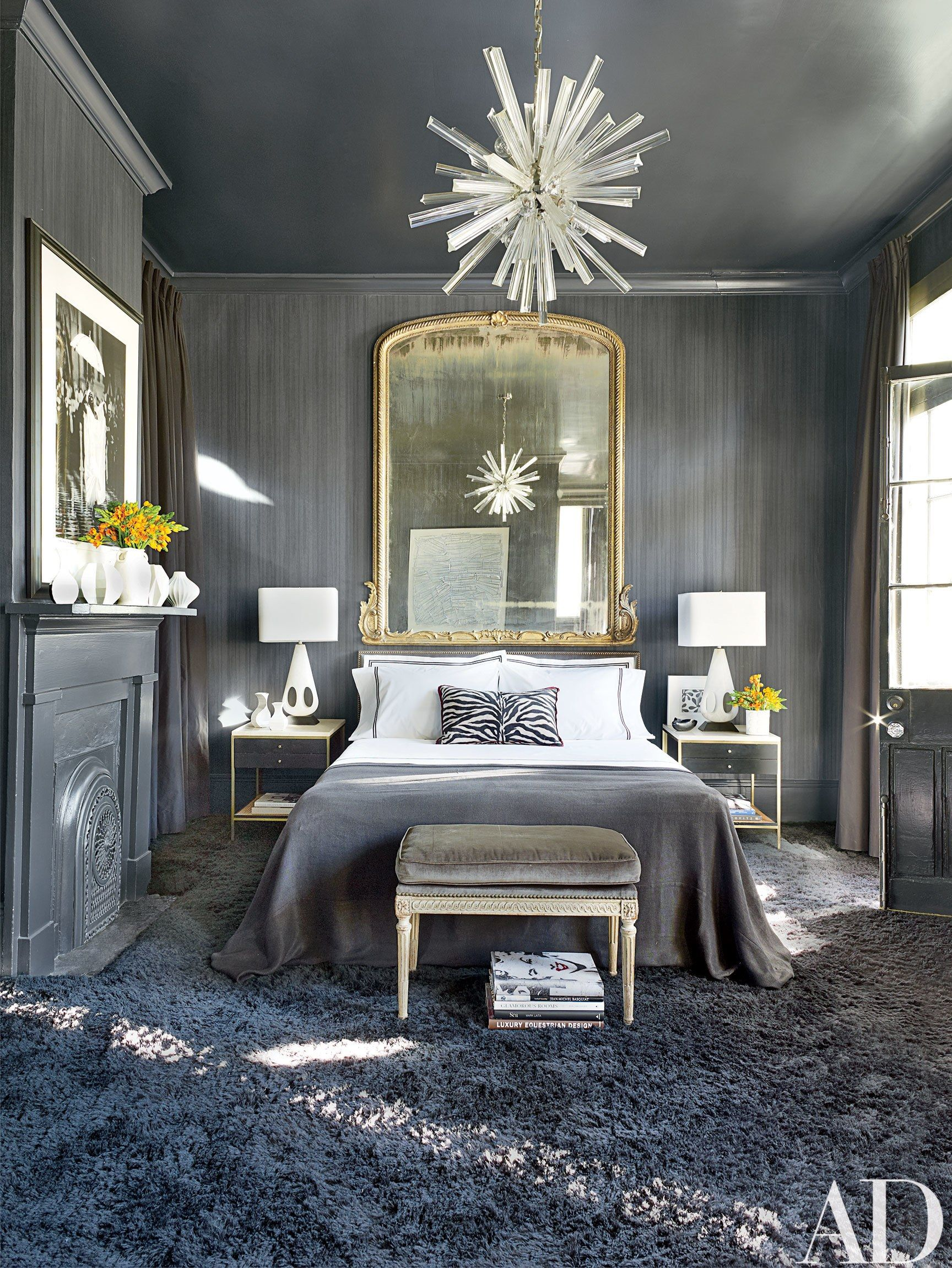 A Historic Greek Revival Residence In New Orleans Is Refreshed To Embody A Sleek And Sophisticated Space Home Decor Trends Grey Room Bedroom Interior