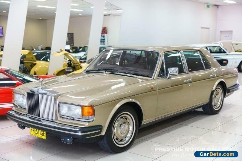 1981 Rolls Royce Silver Spirit Gold Automatic A Sedan Rollsroyce Silverspirit Forsale