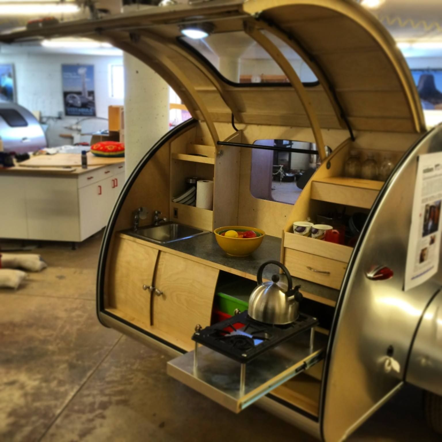 Rv Trailers: Teardrops, Campers And Camping