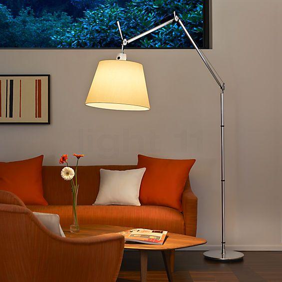 Artemide Tolomeo Mega Terra Avec Variateur Stehlampe Wohnzimmer Inneneinrichtung Und Lampen