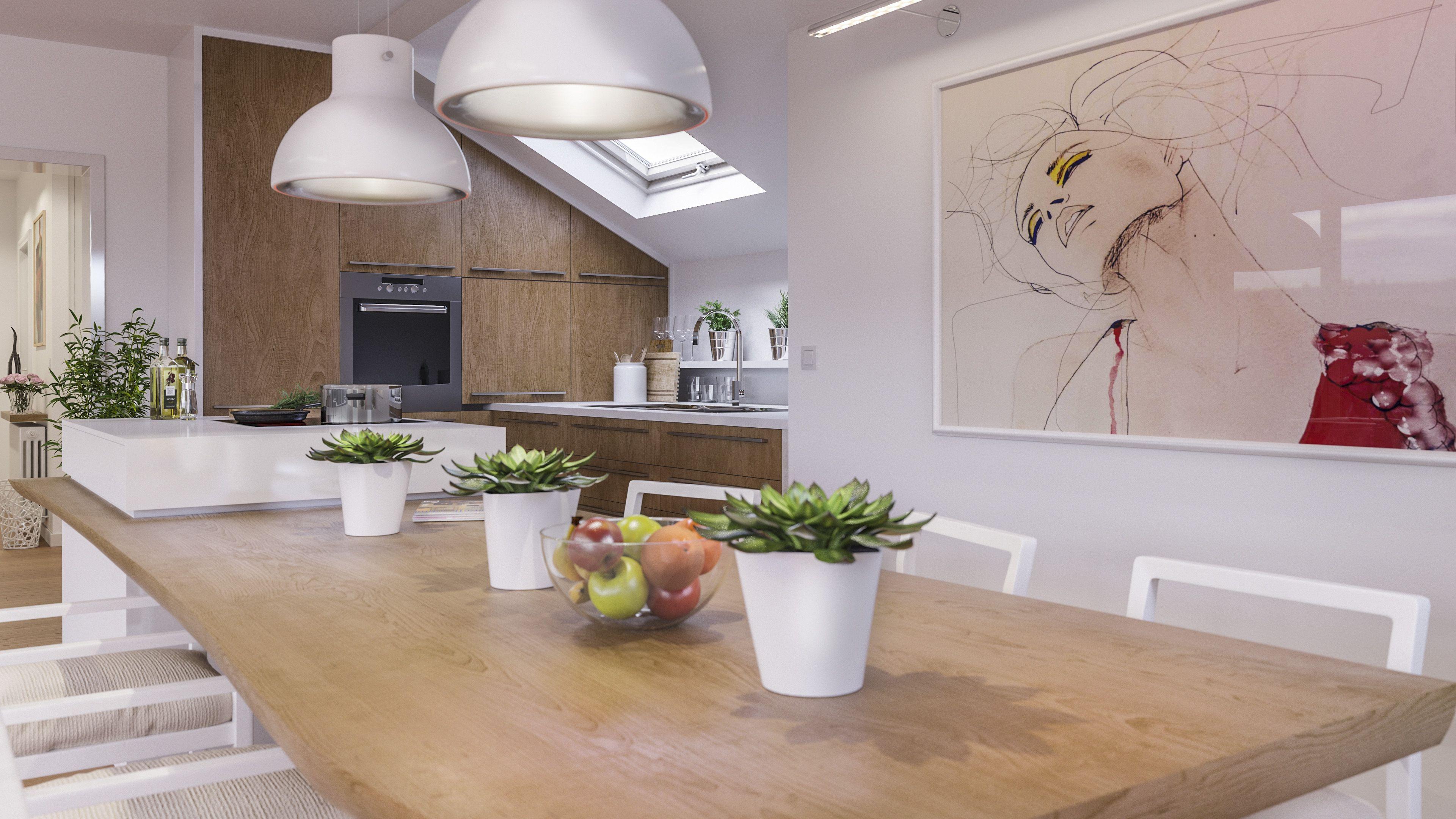 Best Neugestaltung Umplanung einer K che in einer exklusiven Wohnung mit Rheinblick in D sseldorf Benrath D