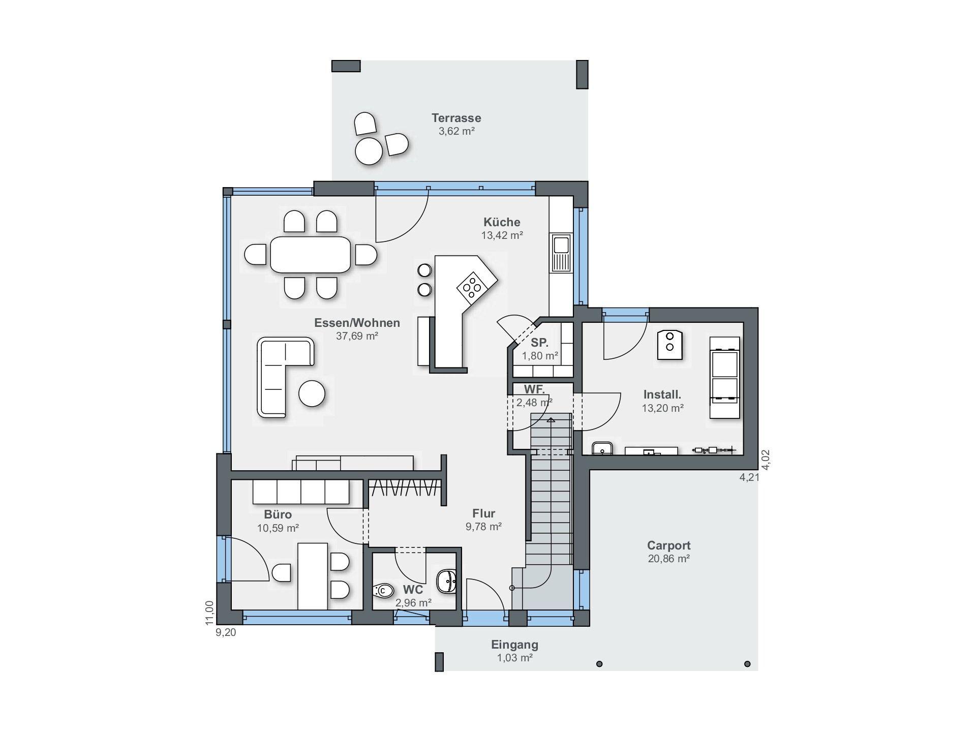 Musterhaus Citylife Haus 700 Weberhaus Musterhaus Weber Haus Kubus Haus