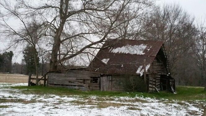 I love old barns, especially my own.