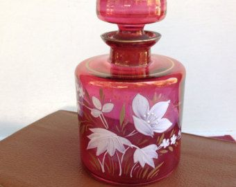 antique perfume bottle on Etsy, a global handmade and vintage marketplace.