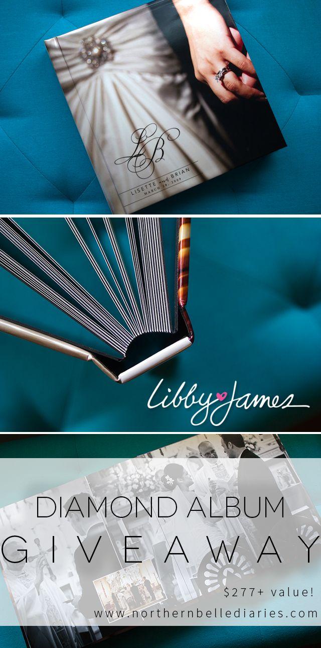 Libby james affordable wedding albums giveaways pinterest