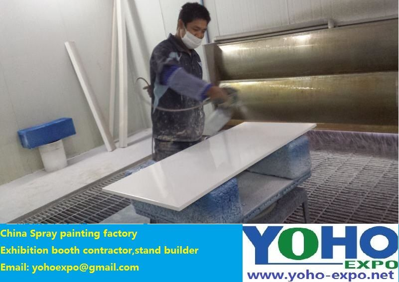 Exhibition Booth Manufacturer China : China spray booth spray booth manufacturers roll paint stand