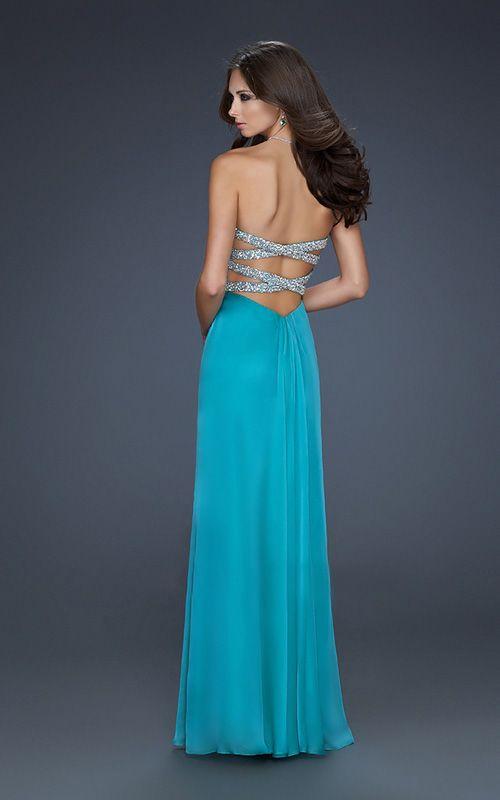 Criss Cross A-line Chiffon Classic Sweetheart Ruched Prom Dress