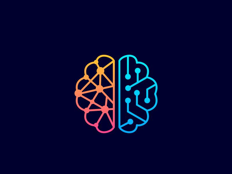 brain + circuit v 2 | Logos design, Technology logo