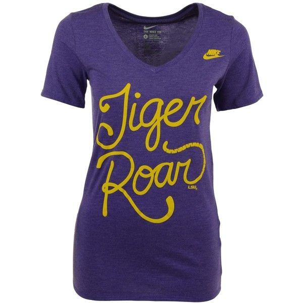 Nike Women's Lsu Tigers Local Attitude T-Shirt (40 CAD) ❤ liked on