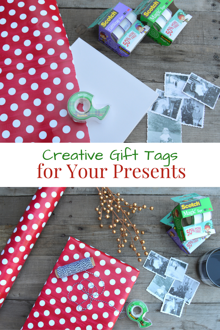 Turn photos into Gift Tags for Your Presents #WrapGiveRepeat (ad ...