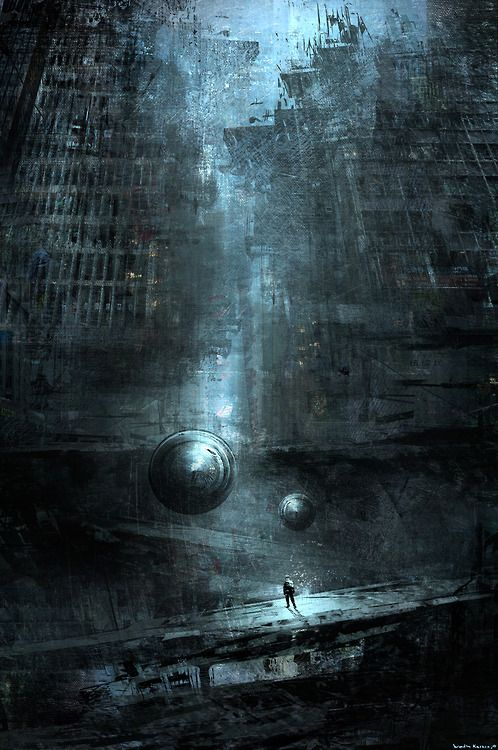 Discovering The Lost City Grunge Brush Art In 60 Pinterest Enchanting Inspirational Alien City