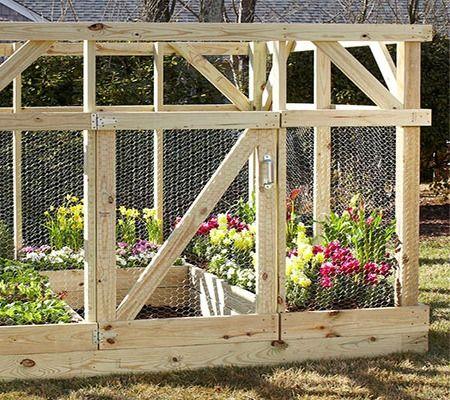 Garden Enclosure   Built By Home Depot Garden Club