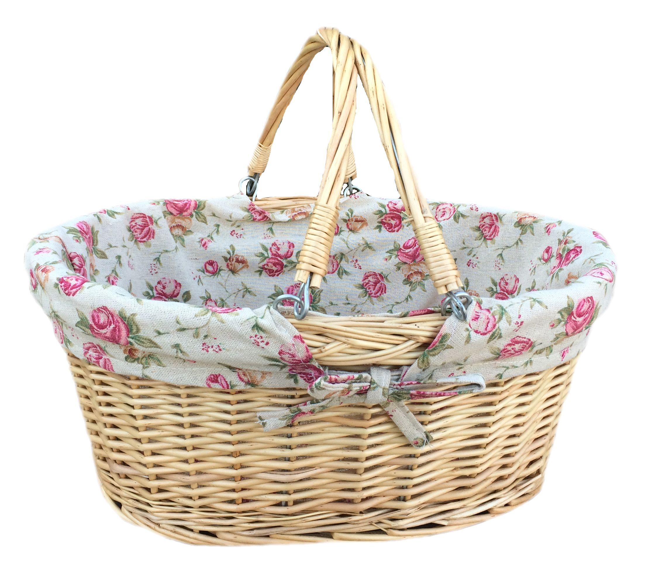 A Large Versatile Oval Basket That Is Ideal For Shopping, Displays, Pick  Your Own