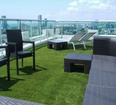 Superb Artificial Grass In An Area Of The Roof Terrace | Apartment Building Design  | Pinterest | Grasses, Balconies And Patios