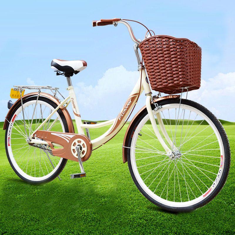 Aliexpress Com Buy Fashion Ladies Bike 24 26 Inch V Brake Korean Lady Ballet Bicycle Utility Bike For Women Yzd002 From Reliable B Womens Bike Bmx Bikes Bike