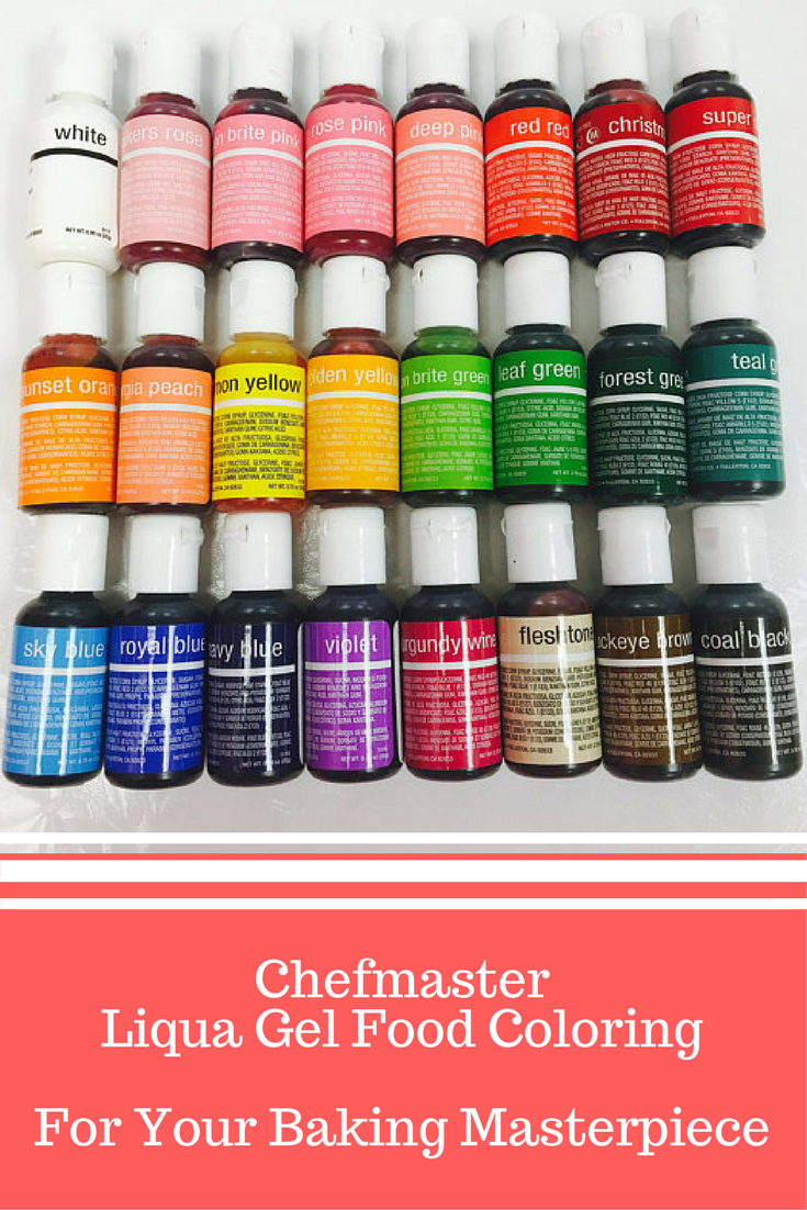 Chefmaster water-based food coloring.This is the food coloring you ...