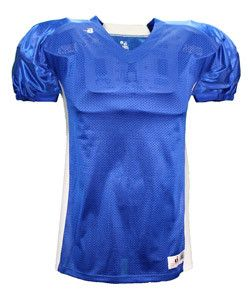Badger Adult East Coast Football Jersey 9488 Royal/ White