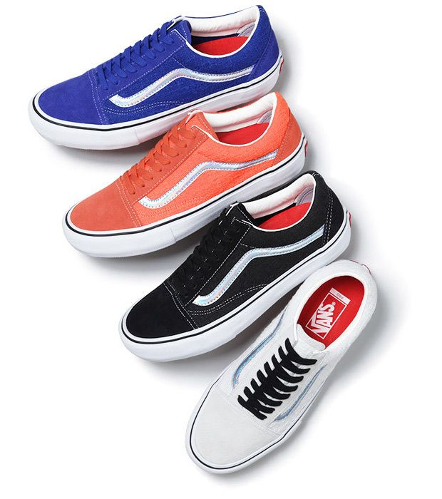 Longtime collaborators Supreme and Vans team up again to start out the summer with a new collection of the Old Skool. With one of the most unique looks we've ever seen for the all-time classic Vans model, Supreme outfits the … Continue reading →