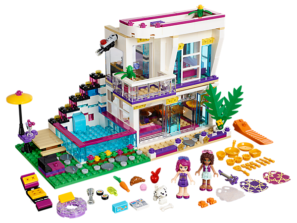 Livi's Pop Star House 41135 | Friends | Buy online at the