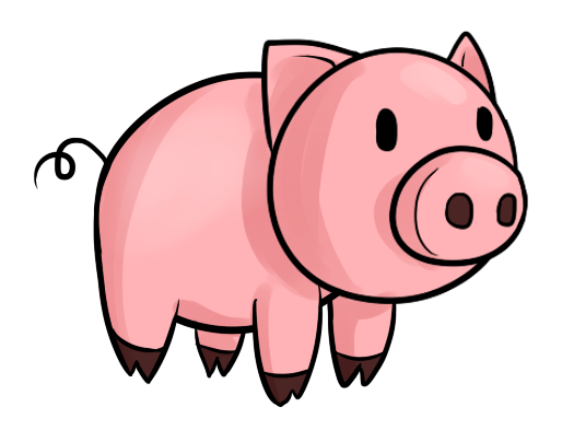 free to use public domain pig clip art obr zky d tsk pinterest rh pinterest com clipart piggy bank clip art pig bbq